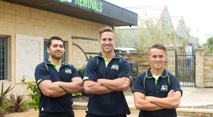 the a2b furniture removals team in perth